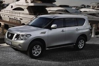 Illustration for article titled 2011 Nissan Patrol Images