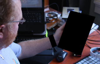 Illustration for article titled What Mysterious Device Is The CTO Of HP Playing With ?