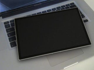 Illustration for article titled The Most Realistic 'Leaked' Apple Tablet Shots Yet