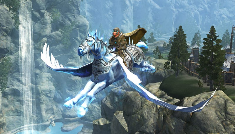 Illustration for article titled EverQuest II Can Sell You A High-Level Character With A Flying Horse