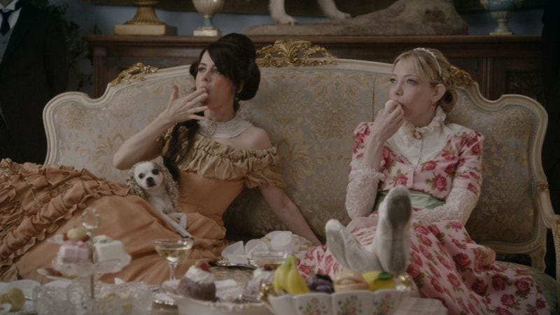Illustration for article titled Another Period mashes up costume dramas and reality shows, fulfilling trash TV's destiny