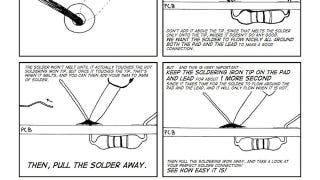 """The """"Soldering is Easy"""" Comic Book Teaches You to Solder With Step-By-Step Illustrations"""