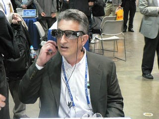 Illustration for article titled Sony Video Glasses Will Turn Everyone Star Trek Chic