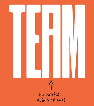 """Illustration for article titled There Is An """"I"""" In Team"""