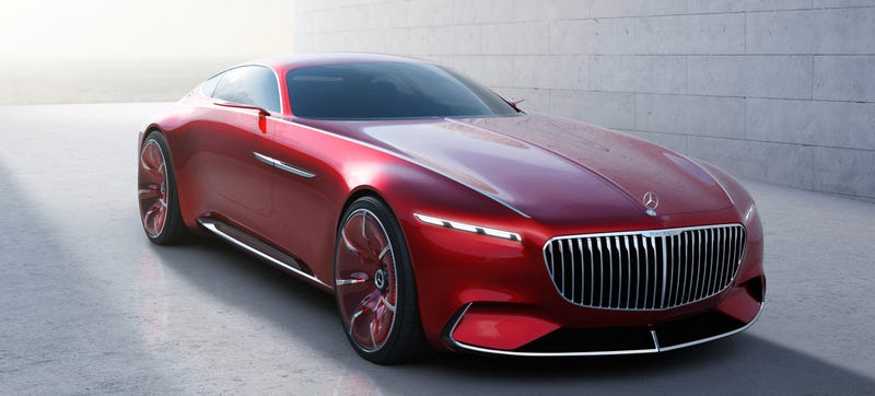 Illustration for article titled Everything Written About The 750 HP Vision Mercedes-Maybach Is BS