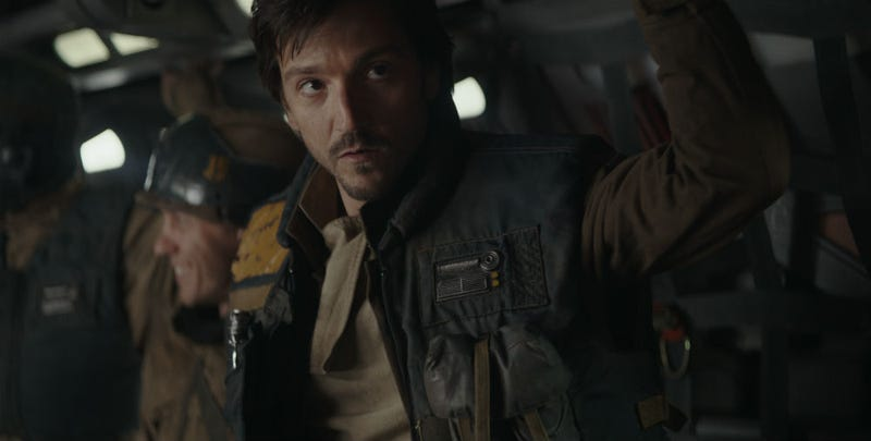 Cassian Andor almost did something incredible in an alternate ending for Rogue One. All Images: Disney