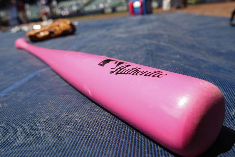 Illustration for article titled MLB More Concerned With Pink Bat Sponsorships Than Umpires Fucking Up
