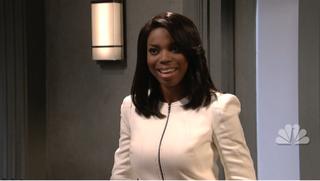 Saturday Night Live's Sasheer Zamata spoofs Scandal's Olivia PopeNBC