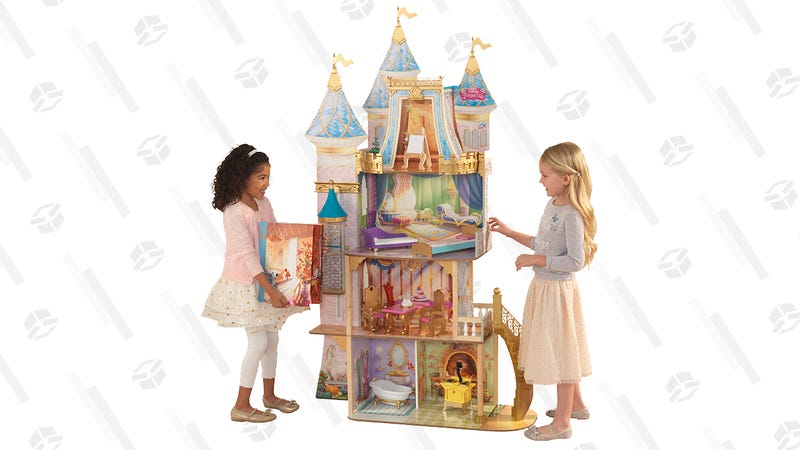 Disney Princess Royal Celebration Wooden Dollhouse | $130 | Walmart