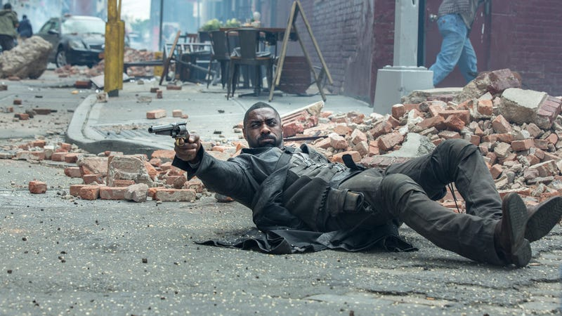 Idris Elba is The Gunslinger in The Dark Tower. Image: Sony