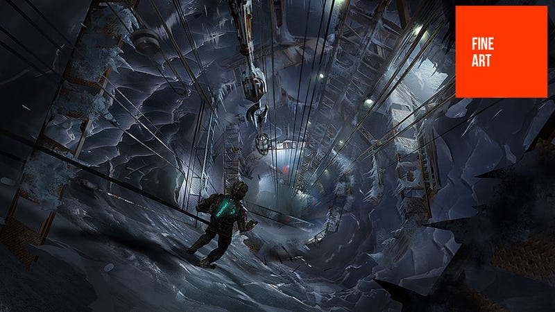 Illustration for article titled The Cold, Not-So-Lonely Art Of Dead Space 3