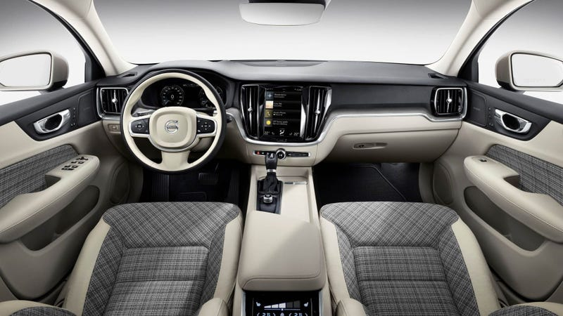 The 2019 Volvo V60 Will Have The Best Wagon Interior With Plaid Seats