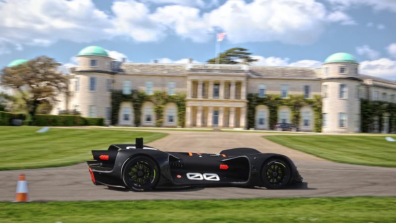 Illustration for article titled Roborace's Robocar Will Attempt The First Fully Autonomous Hillclimb At The Goodwood Festival Of Speed