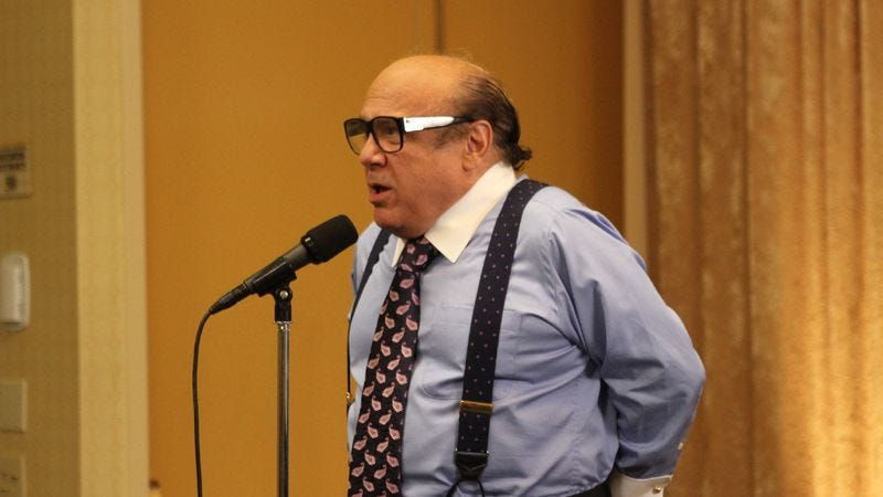 Image result for danny devito business man it's always sunny