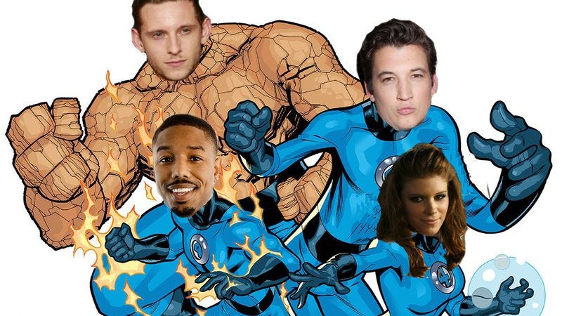 Illustration for article titled Here is your newer, younger, next-generation Fantastic Four