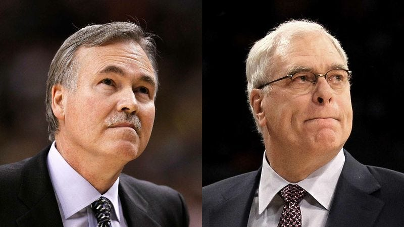 Illustration for article titled Lakers GM Claims Mike D'Antoni Had More Impressive Cover Letter Than Phil Jackson