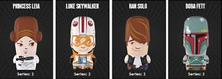 Illustration for article titled Star Wars Series 2 Mimobots Flash Drives Available for Preorder Now