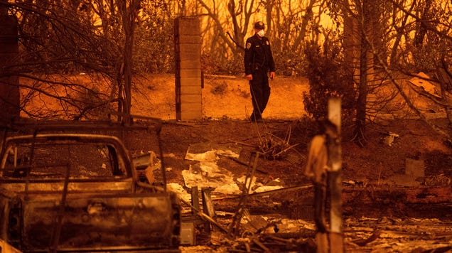 The Carr Fire Is Officially One of the 10 Worst Wildfires in California History