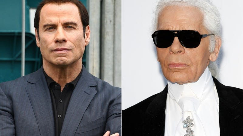 Illustration for article titled Even Karl Lagerfeld Has a John Travolta Gay Massage Joke