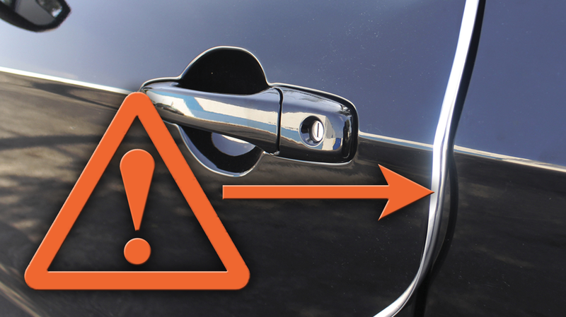 Illustration for article titled Chrome Door Edge Trim Is Terrible