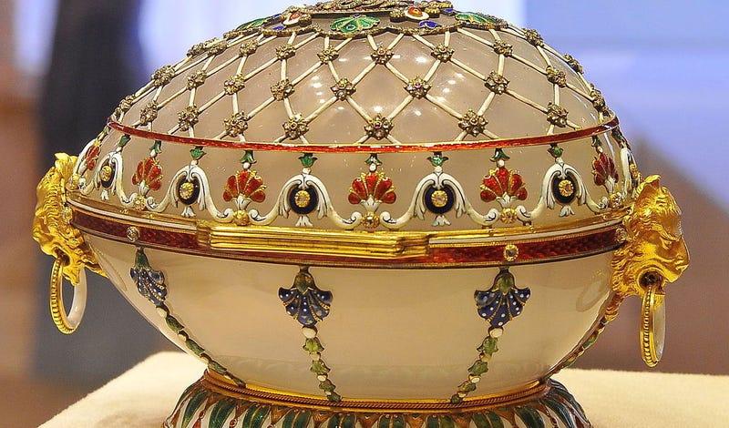 Huevo de Fabergé. Wikimedia Commons