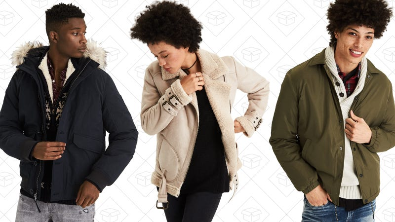 50% off outerwear | American Eagle
