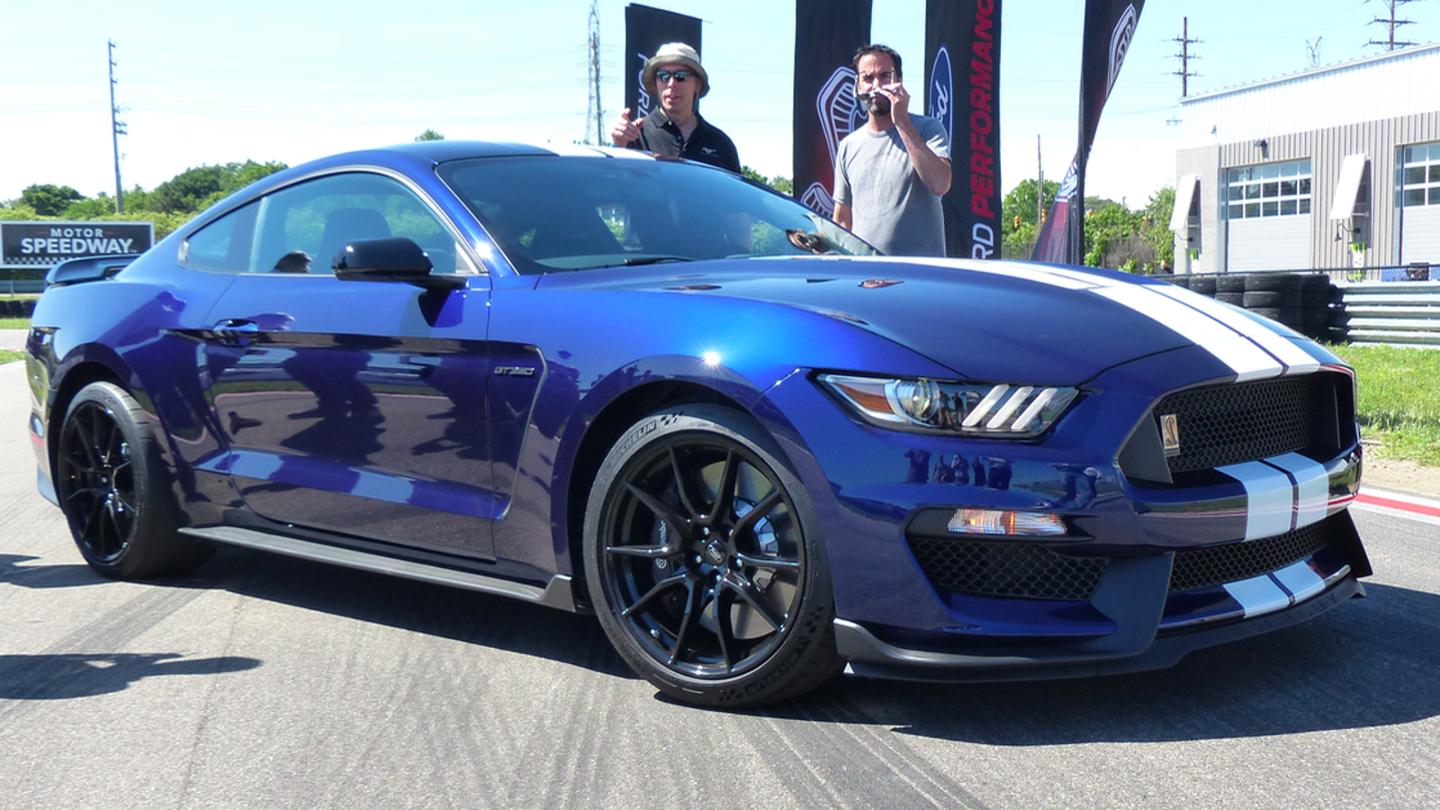 ford mustang shelby gt    faster