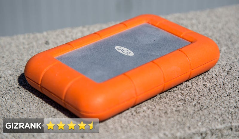 Illustration for article titled LaCie Rugged Thunderbolt Review: The Best Thunderbolt Hard Drive