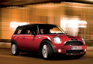 2008 John Cooper Works Mini Cooper Clubman Revealed Officially