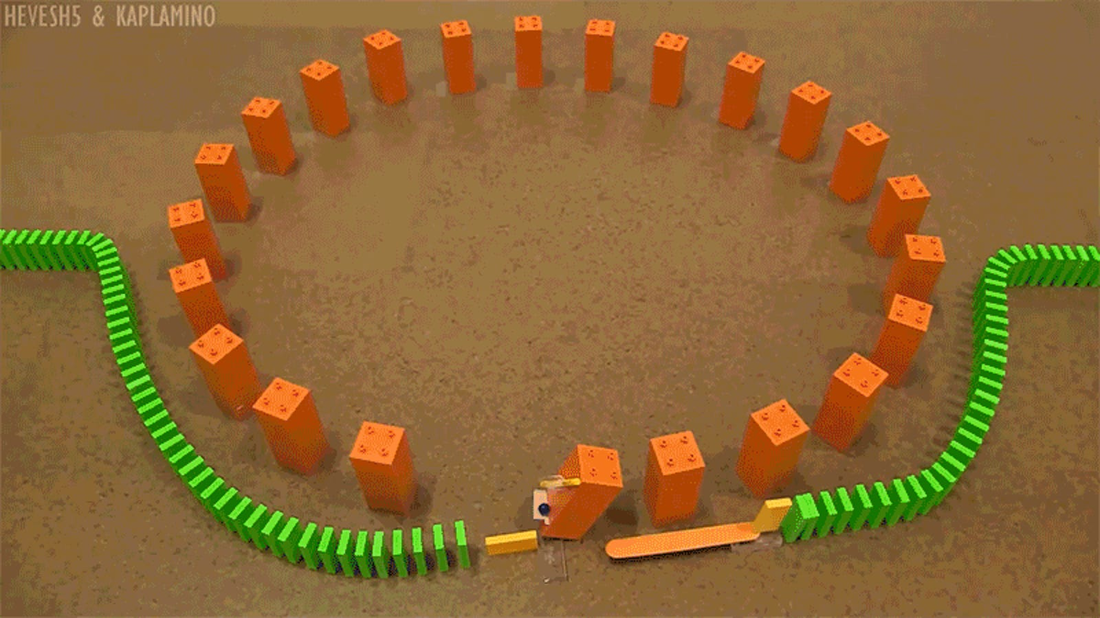 My Brain Refuses to Believe These Domino Tricks Are Real