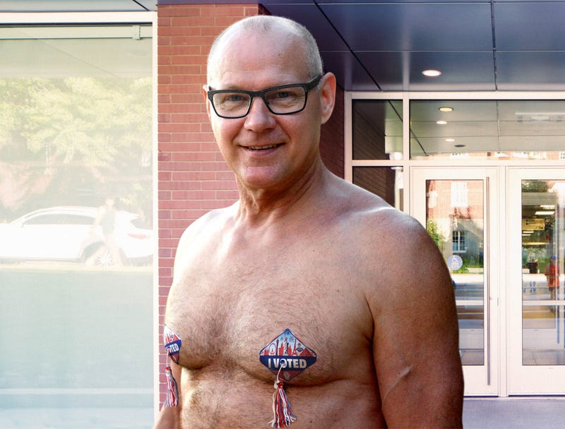 Illustration for article titled Nevada Secretary Of State Unveils New 'I Voted' Pasties
