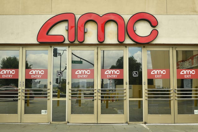 """AMC Theatres now has """"substantial doubt"""" that it can stay in business"""