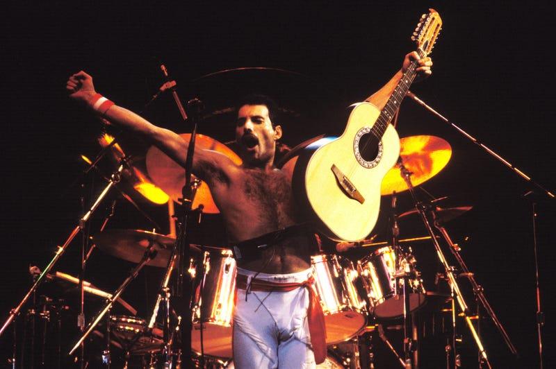 Freddie Mercury. Or is it Rami Malek? (It's Freddie.)