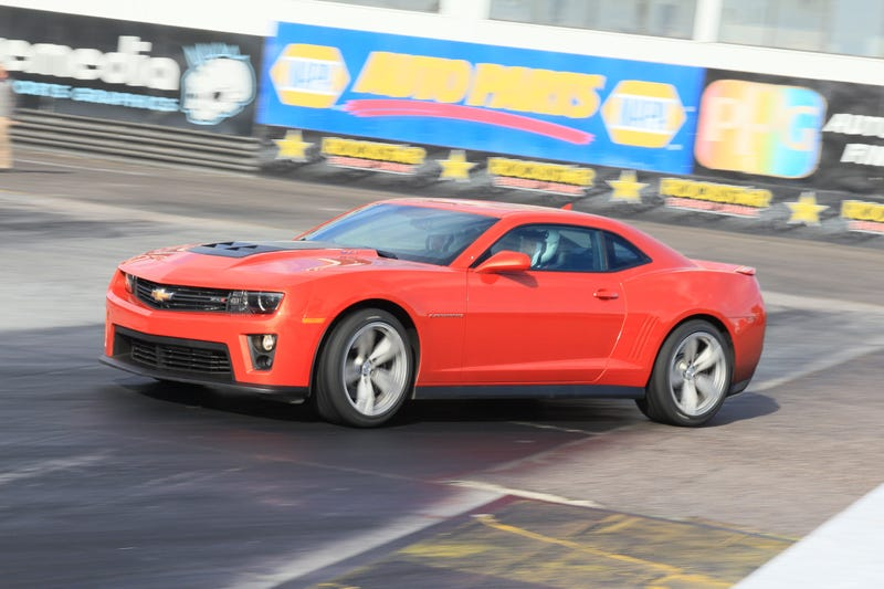 Illustration for article titled Chevy Camaro ZL1: Review Gallery