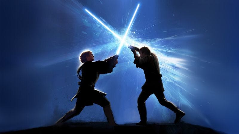 Illustration for article titled Here's a video about the creation of Star Wars' iconic lightsaber