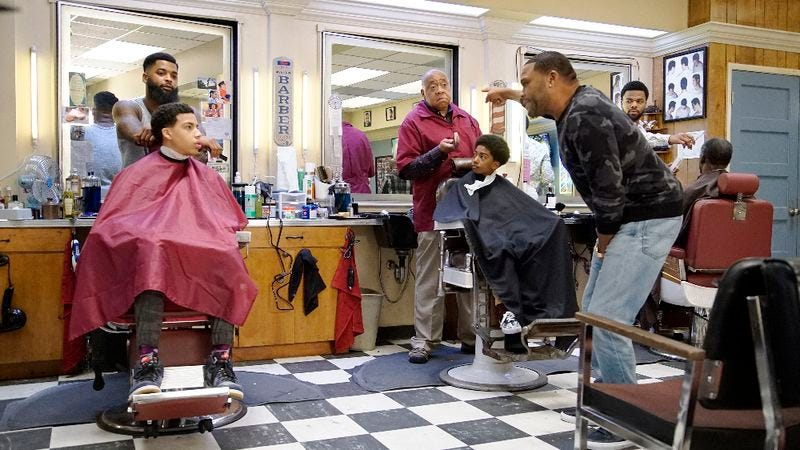 """Illustration for article titled The appropriately titled """"Chop Shop"""" does more harm than good for Black-ish"""