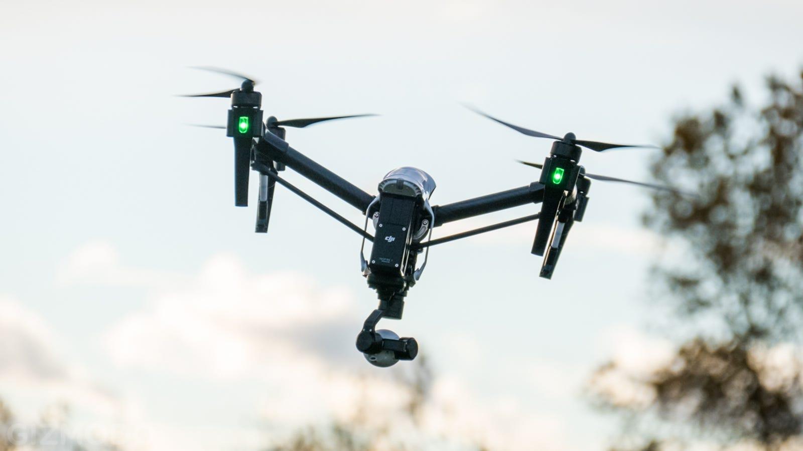 DJI Inspire 1, el nuevo dron de DJI que graba en 4K
