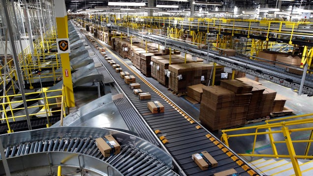 Fully Automated Warehouses Are a Decade Away, Amazon Says