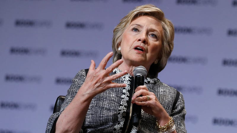 Verrit power user Hillary Clinton (Photo: John Lamparski/Getty Images)