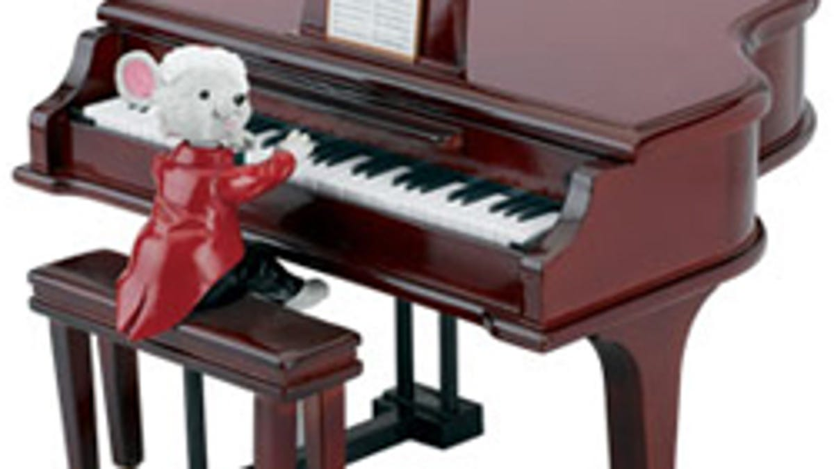 Piano playing tickles matures fancy