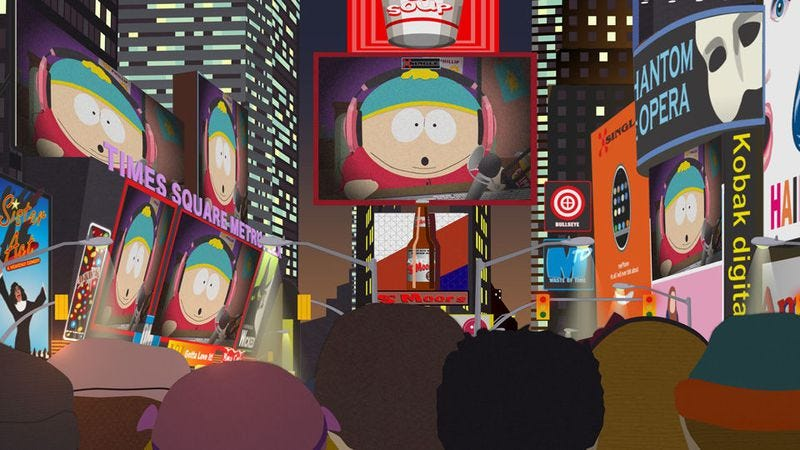 "Illustration for article titled South Park: ""#HappyHolograms"""