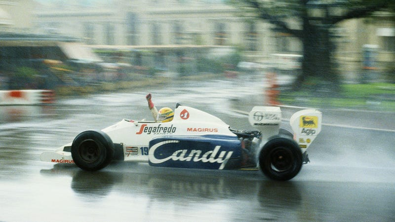 Illustration for article titled The 1984 Monaco Grand Prix proved Ayrton Senna's greatness
