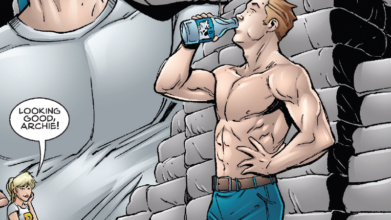Illustration for article titled The Riverdale Prequel Comic Tells Us the Story of How Archie Became a Buff CW Protagonist
