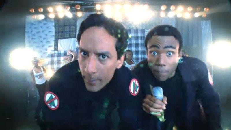 Illustration for article titled Here is Troy and Abed's rap from the Community Christmas episode