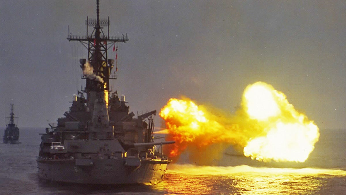 Battleships Pulled Off The Biggest Ruse Of Operation Desert