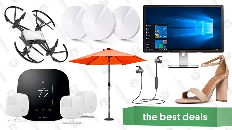 Illustration for article titled Wednesday's Best Deals: Smart Thermostat, Mesh Router Set, $85 Drone, and More