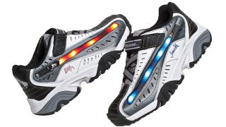 Illustration for article titled I'm a Grown Man, But I Would Still Wear These Lightsaber Sneakers
