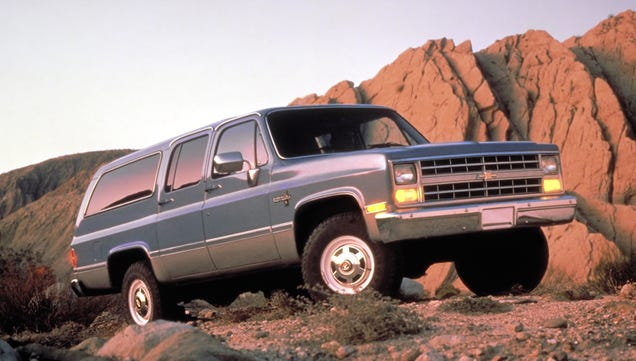 See The Chevy Suburban Grow Up In This Great Gallery Of