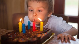 Illustration for article titled Blowing Out Birthday Candles Increases Cake Bacteria by 1,400 Percent