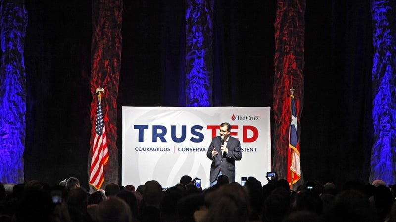 Illustration for article titled Ted Cruz Seizes Oklahoma in a Surprise Upset for Donald Trump's Early Streak